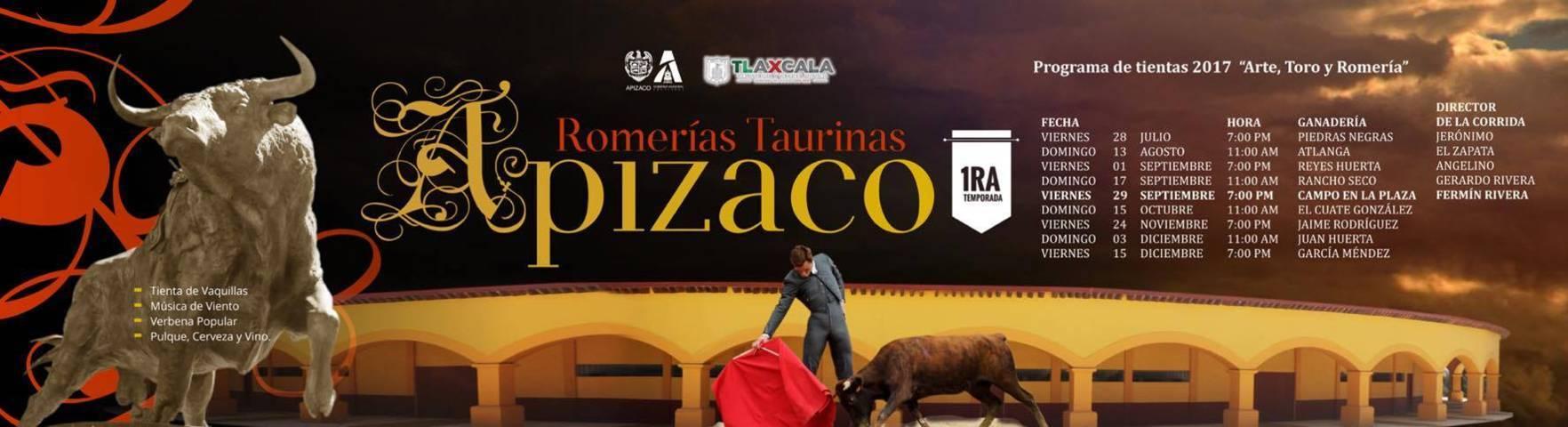 Anuncian en Apizaco Primer Gran Temporada de Romerías Taurinas