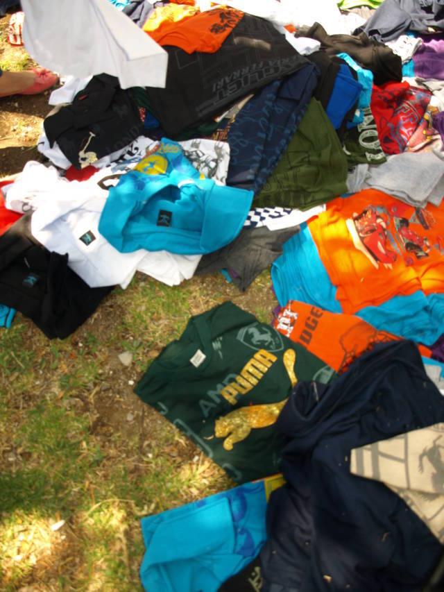 Asegura PGR Tlaxcala ropa y calzado deportivo falsificado