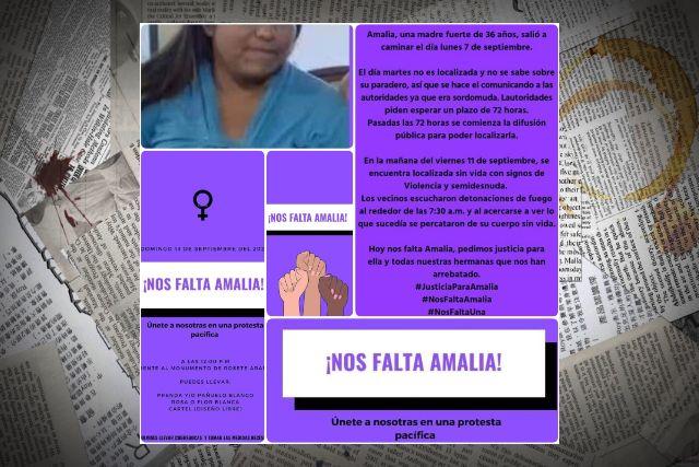 Activistas piden justicia por el asesinato de una mujer discapacita