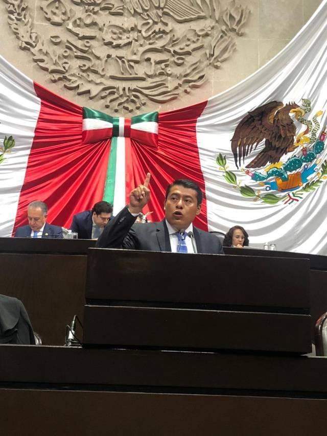 Terán propone que presidente de México rinda informe en Congreso de la Unión