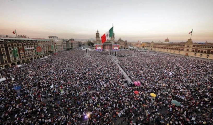 Juntos haremos historia y juntos vamos por la transformación de México; Rubén Terán