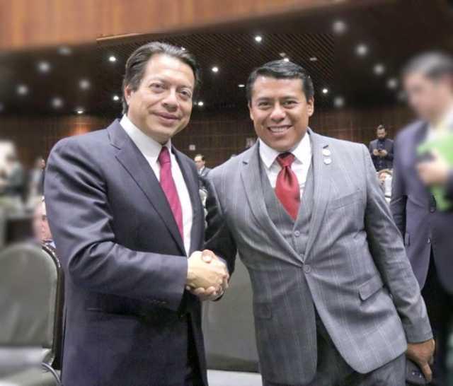Mario Delgado acompañará a Terán en su Primer Informe Legislativo