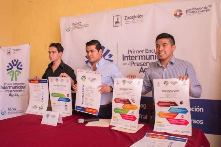 CAPAZ se sumara al cuidado del agua en el 1er encuentro intermunicipal