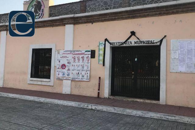 Perredistas piden que desaparezca el ayuntamiento de Mazatecochco