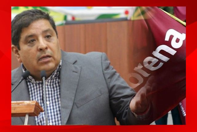 Confirma Víctor Castro su salida de la bancada del PT, se va Morena