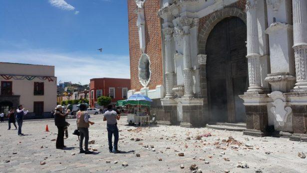 Detalla INAH avances de reconstrucción tras el sismo