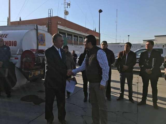 Garantiza alcalde de Apizaco, resultados del director de seguridad pública