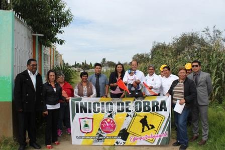 Electrificarán viviendas del municipio de Santa Cruz Tlaxcala