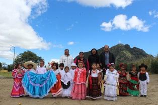 Exquisita degustación de platillos en preescolar de Santa Cruz Tlaxcala