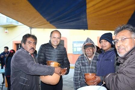 Saldo blanco en las festividades patronales de San Lucas Tlacochcalco
