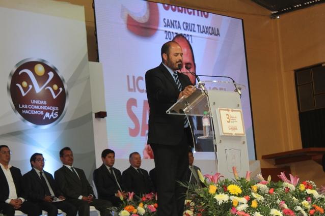 Sanabria Chávez presenta su Tercer Informe de Gobierno Municipal