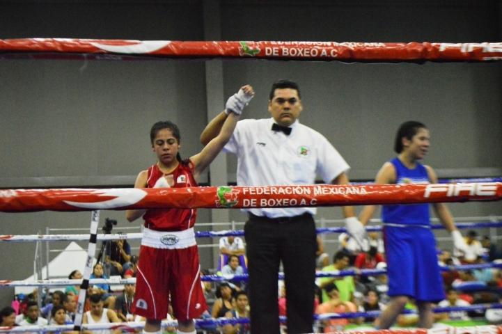 Logran tlaxcaltecas pase a semifinales en el box de la Olimpiada Nacional
