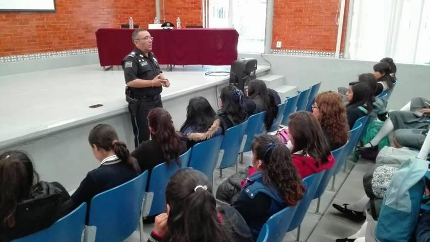 Realiza Policía Estatal Jornada de Prevención del Delito en tu Escuela