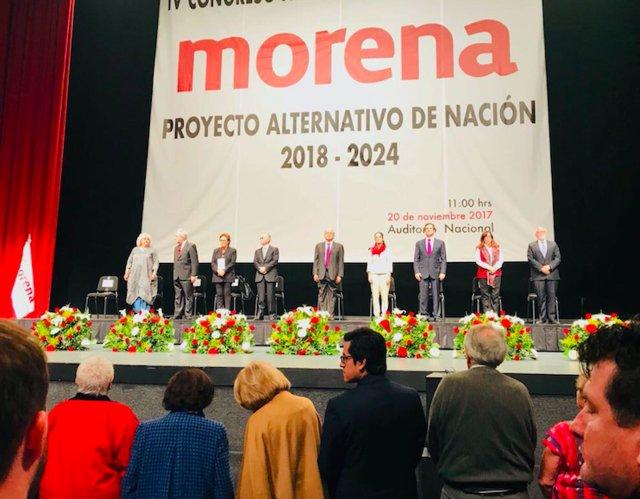 Participa Senadora Palafox en IV Congreso Nacional de Morena