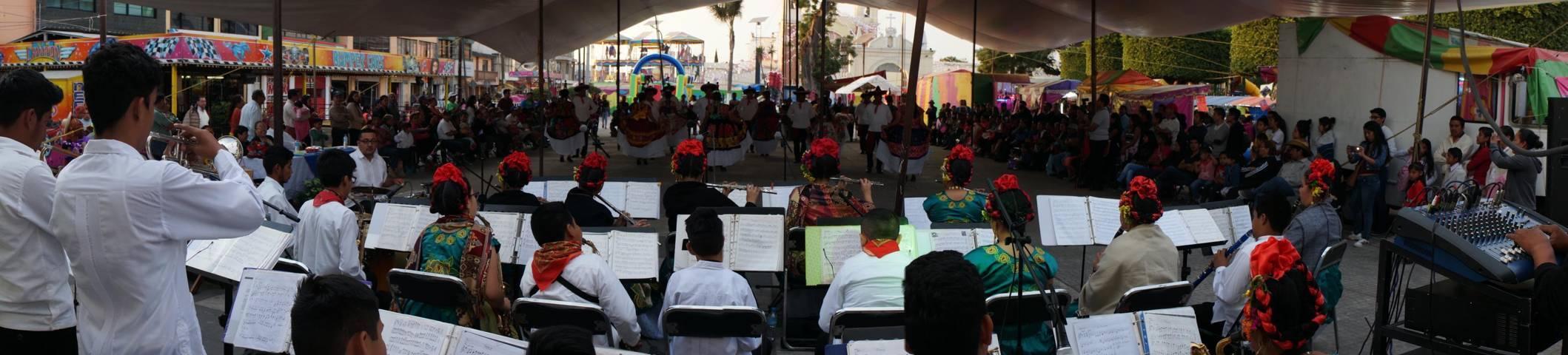 SPM sede de Encuentro Cultural Dancísticas entre Michoacán y Oaxaca