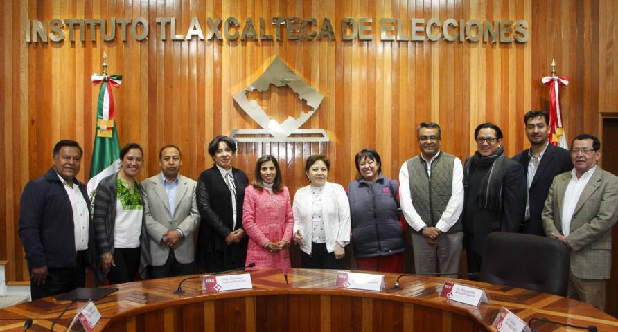 Formalizan ante el ITE alianza común el PRI, PVEM, Nueva Alianza y PS