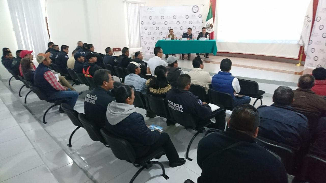 Llega el programa Agente del Ministerio Público de la Federación Itinerante a Nanacamilpa