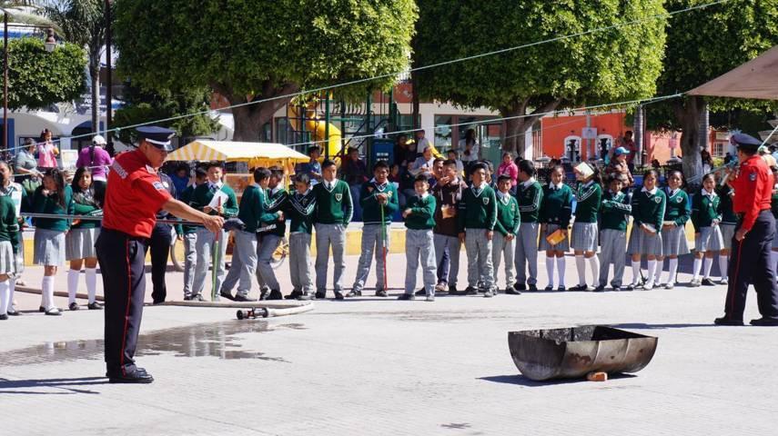 Llevan a cabo semana de prevención del delito en San Pablo del Monte