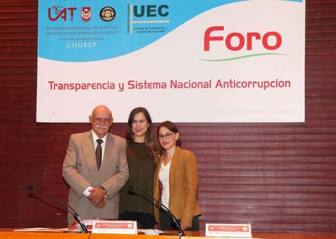 """Realizó CIJUREP foro """"Transparencia y Sistema Nacional Anticorrupción"""""""