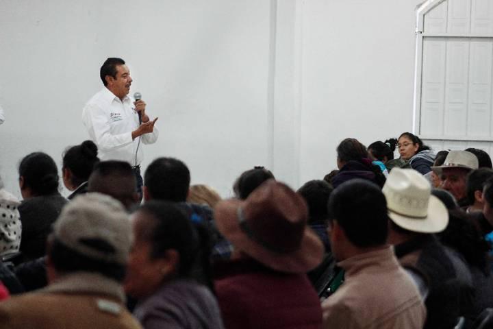 Con el apoyo de campesinos la voz del pueblo se hará presente: Florentino