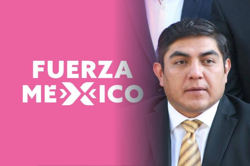 Giovanni Pérez se suma a las filas de Fuerza por México; va por una diputación