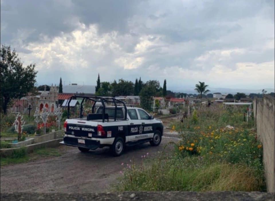 Localizan restos humanos en un panteón de Mazatecohco