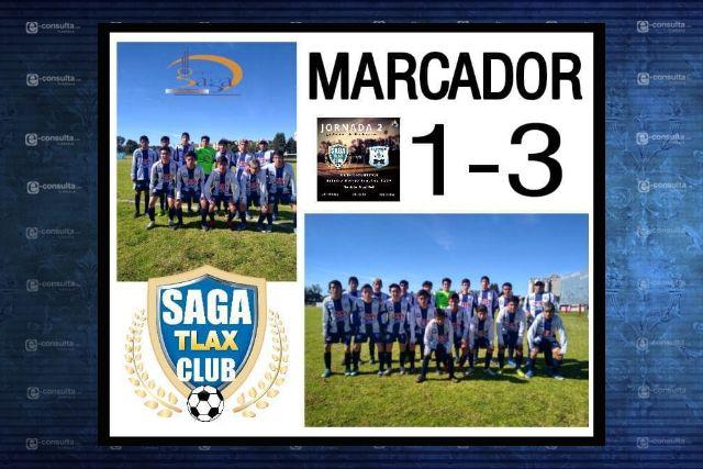 SAGA Tlax Club cae ante Burton de Puebla