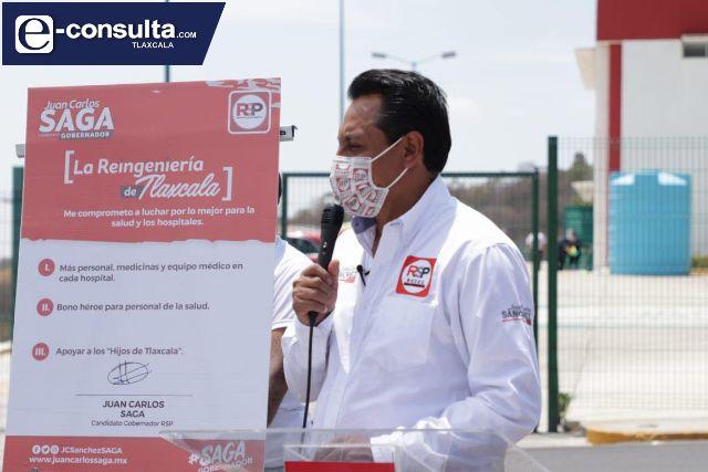 SAGA propone crear el Bono Héroe a beneficio del sector médico