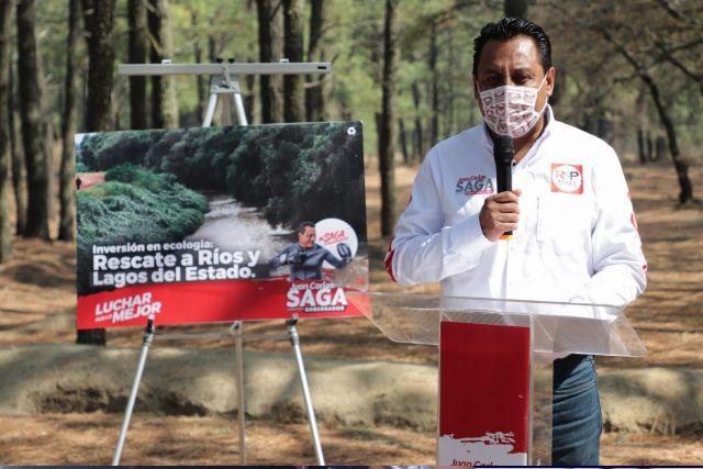 La reingeniería de Tlaxcala rescatará los ríos y lagos del estado: SAGA