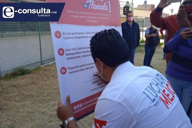 Firma SAGA su primer compromiso como Candidato al Gobierno de Tlaxcala