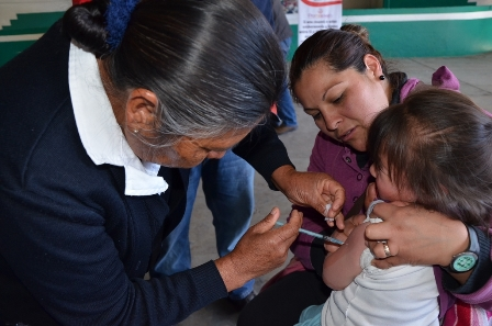 Preparan actividades de la semana nacional de salud