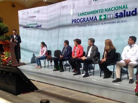 Arranca Sesa programa nacional Mi Salud en Tlaxcala