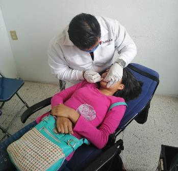 Benefician a 260 niñas y niños de la capital con Jornada de Salud Bucal