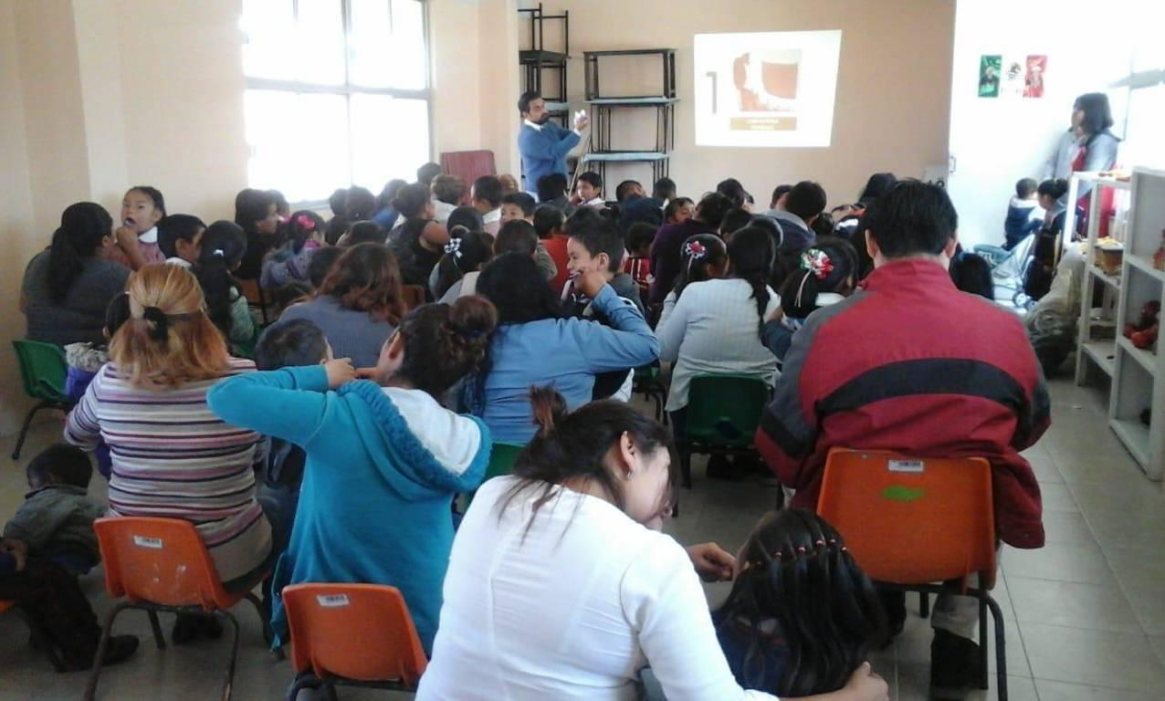 Arranca nuevamente programa Masbe en la comunidad de Cuauhtelulpan