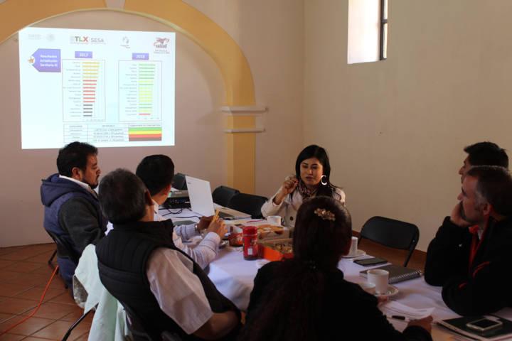 La SESA evalúa al municipio y avanza hacia Municipio Saludable