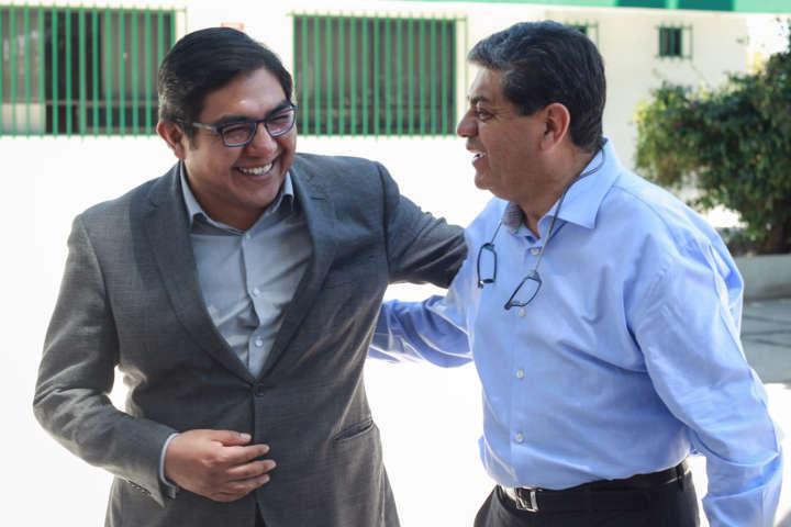 Totolac recibe al Secretario de Salud