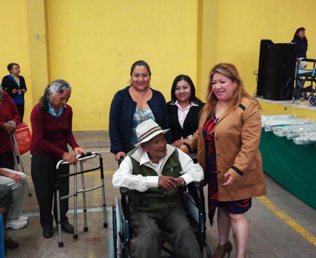 Mejoramos la calidad de vida de los grupos vulnerables: SMDIF
