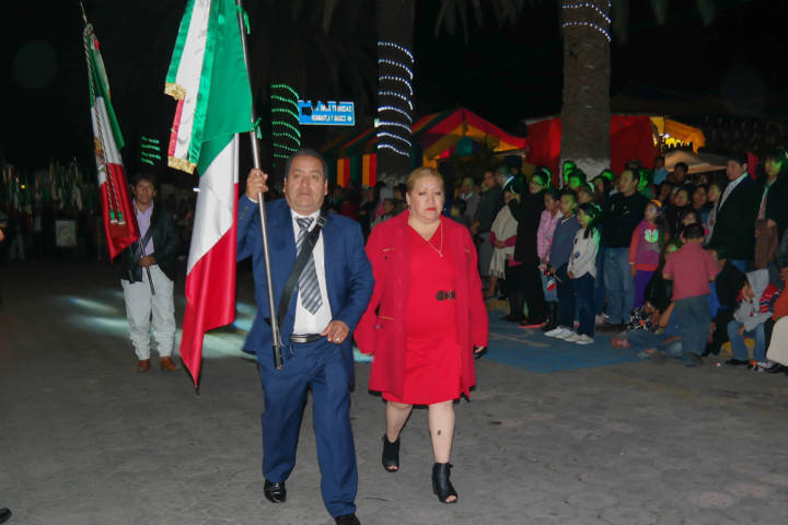 Así se vivieron Las fiestas patrias en Amaxac