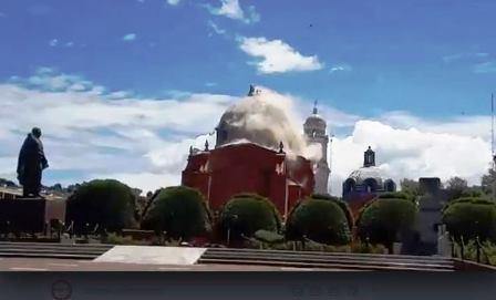 Pedirán a AMLO la reparación inmediata del templo de San José