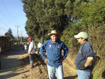 Llega faena comunitaria para Barrio de San Manuel
