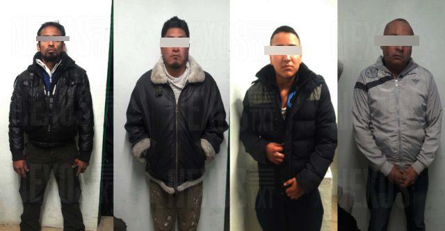 Aseguran a 4 sujetos por detonar un arma en una gasolinera en Sanctórum