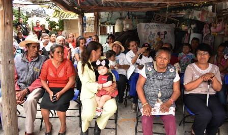 Se pronuncia Sandra Corona por ampliar programas sociales