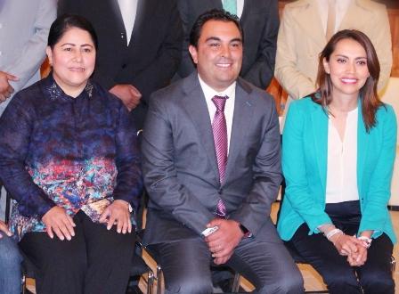 Presenta propuesta reales Sandra Corona a empresarios de Tlaxcala