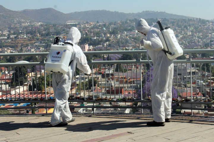 Continúan con Jornadas de Sanitización en la capital