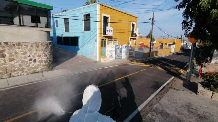 Mantienen Jornadas de Sanitización en diversos puntos de la capital