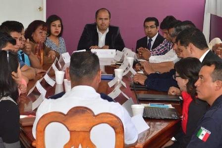 Instalan Consejo de Seguridad Pública en Santa Cruz Tlaxcala