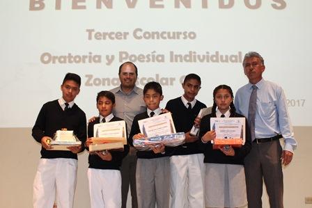Santa Cruz Tlaxcala recibió evento de oratoria y poesía