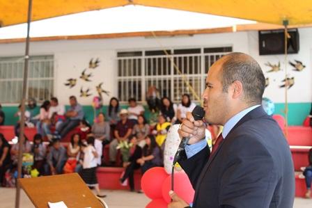 Santa Cruz Tlaxcala continuará apostándole a la educación