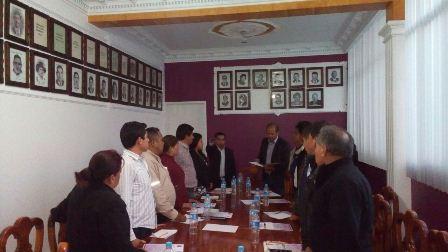 Designan en Santa Cruz Tlaxcala a secretario del ayuntamiento