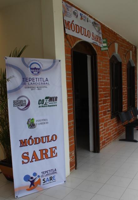 Instala Gobierno de Lardizábal Módulo SARE
